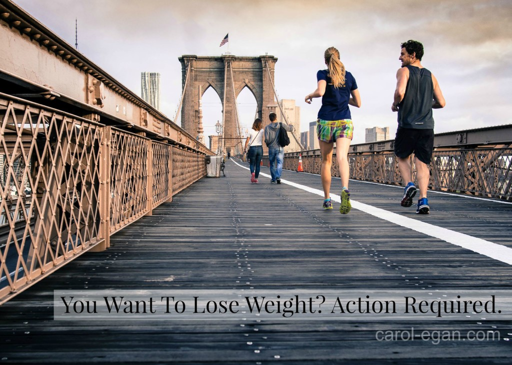 Lose Weight. Action Required