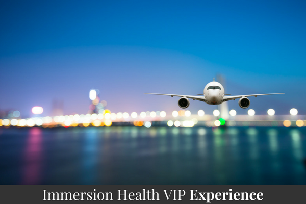 Immersion Health VIP Experience
